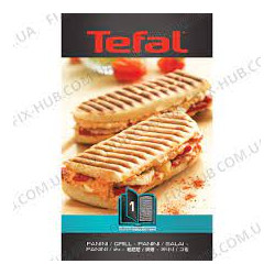 Plaque grill panini snack collection XA800166 Tefal